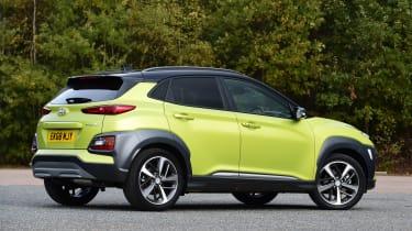Hyundai Kona Diesel - rear static