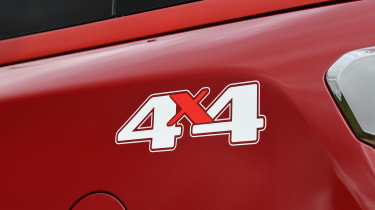 SsangYong Musso long term review - 4x4 decal