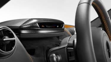 McLaren 720S - dials rotated