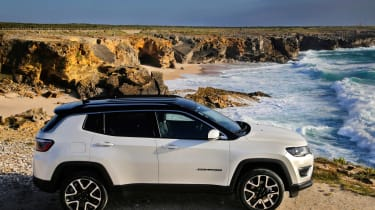 2017 Jeep Compass - side profile static