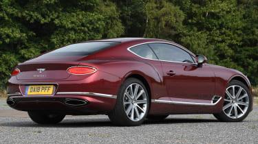 Bentley Continental GT - rear static