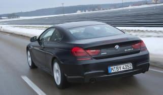 BMW 640d xDrive rear