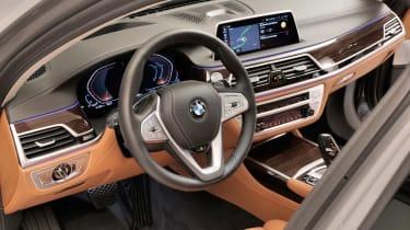 BMW 7 Series facelift - interior