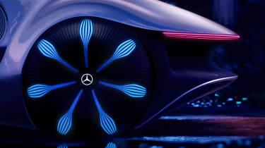 Mercedes Vision AVTR concept - wheel