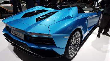 Lamborghini Aventador Roadster - Frankfurt Motor Show rear