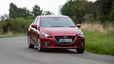 Mazda 3 - front cornering