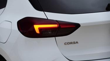 Vauxhall Corsa - rear light