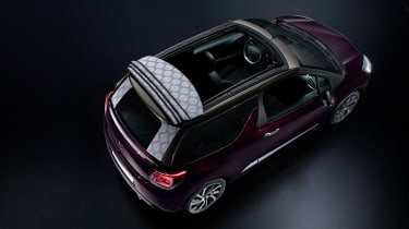 DS 3 Cabrio - rear roof down