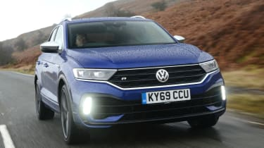 Volkswagen T-Roc R - front tracking