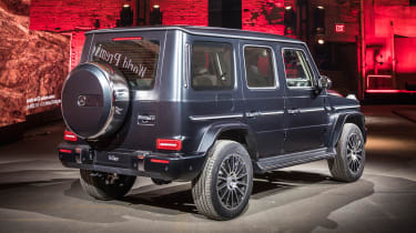 New Mercedes G-Class revealed - rear