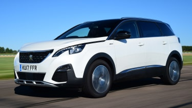 Peugeot 5008 - front tracking