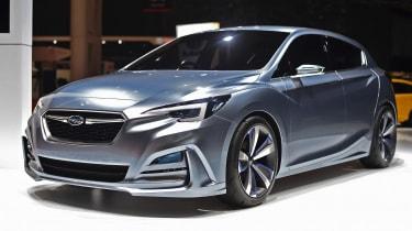 Subaru Impreza 5 Door concept front