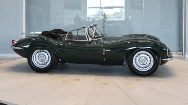 Jaguar XKSS continuation model side profile