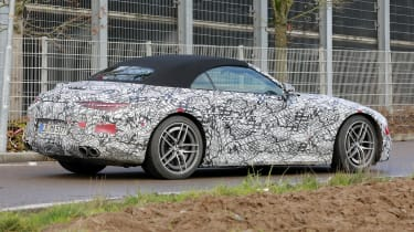 Mercedes SL 2021 - rear corner