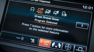 Land Rover Discovery XXV modes
