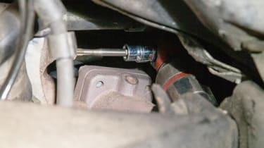 How to investigate TDV6 turbocharger noise - step 22