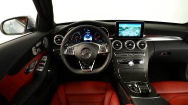 Mercedes C-Class 2014 studio interior
