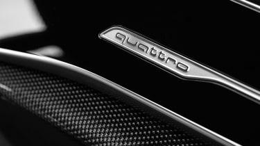 Audi SQ8 - quattro badge