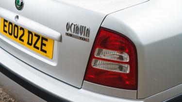 Skoda Octavia - rear light