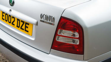 Skoda Octavia - rear light