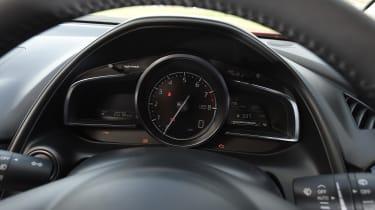 Mazda CX-3 - speedo