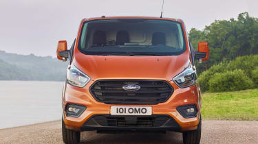 New 2017 Ford Transit Custom front