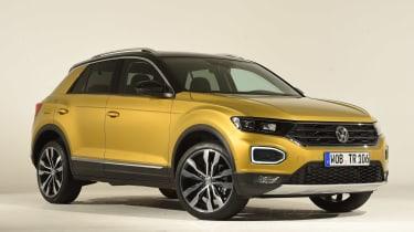 Volkswagen T-ROC - studio front