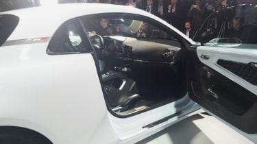 Renault Alpine Vision concept - show reveal interior