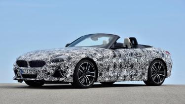 BMW Z4 prototype - front static