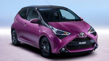 Fresh Toyota Aygo - front