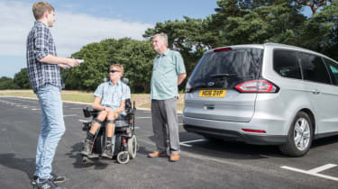 Disability driving feature - group