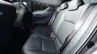Toyota C-HT 1.2 Icon 2017 - rear seats