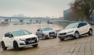 DS 4 Crossback vs Audi Q3 vs Volvo V40 Cross Country - header