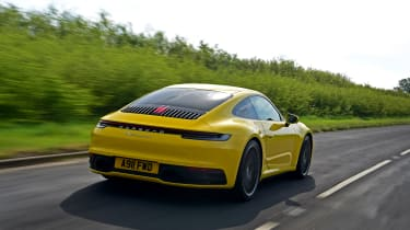 Porsche 911 - rear tracking
