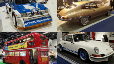 2016 London Classic Car Show header