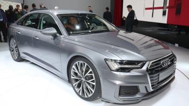New Audi A6 - Geneva front