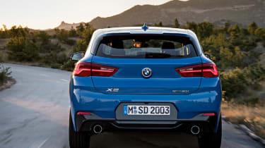 BMW X2 leak rear