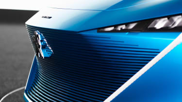 Peugeot Instinct concept - front detail