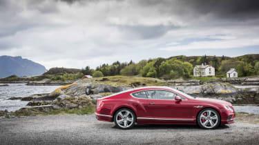 Bentley Contintental GT Speed 2015 side