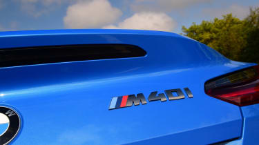 BMW Z4 M40i - rear badge