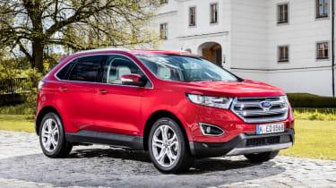 Ford Edge Titanium 2016 - front quarter