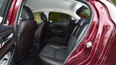Mazda 2 - rear seats