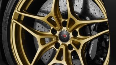 McLaren 720S Dubai wheel