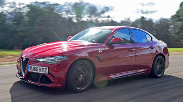 Alfa Romeo Giulia Quadrifoglio vs Mercedes-AMG C63