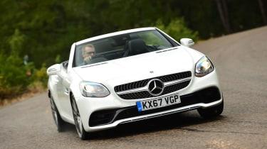 Mercedes SLC 180 - front cornering