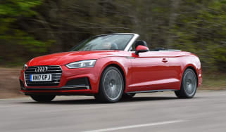 Audi A5 Cabriolet - front