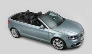 Used Audi A3 roof down