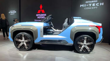 New Mitsubishi MI-TECH concept