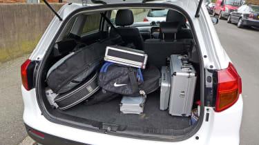 Suzuki Vitara (long term) - boot full