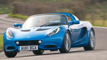 Lotus Elise driving